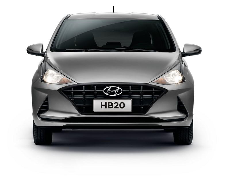 Hyundai HB20 2021 - Foto: Divulgação/Hyundai/Garagem 360/ND