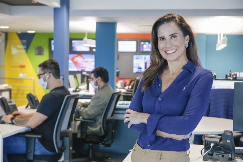 Márcia Dutra é a apresentadora do novo formato – Foto: Anderson Coelho/ND