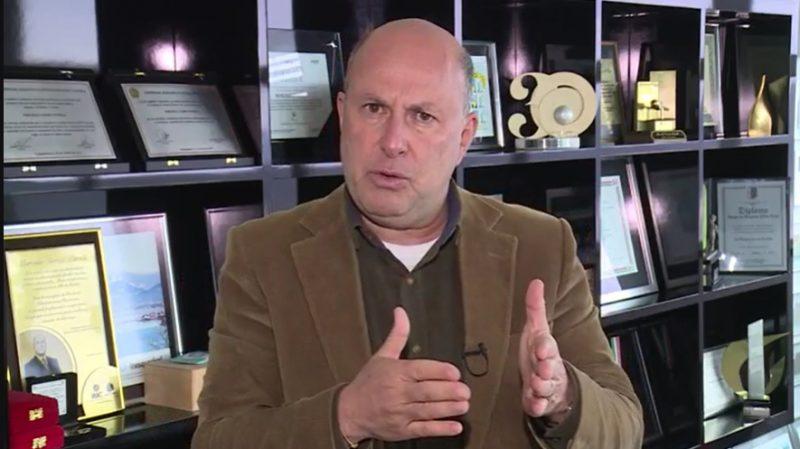 Empresário Marcello Petrelli, presidente do Grupo ND – Foto: Reprodução imagens de TV