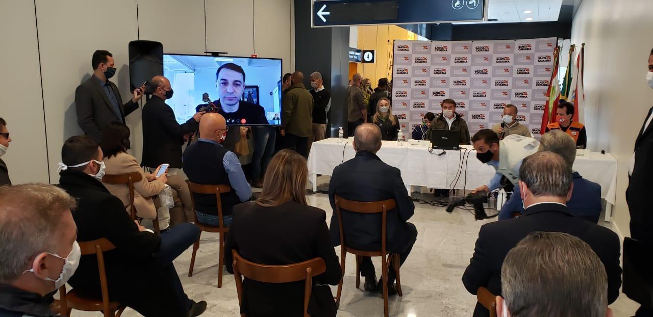 Reunião com o presidente Jair Bolsonaro - Tuliana Rosa/divulgação/ND