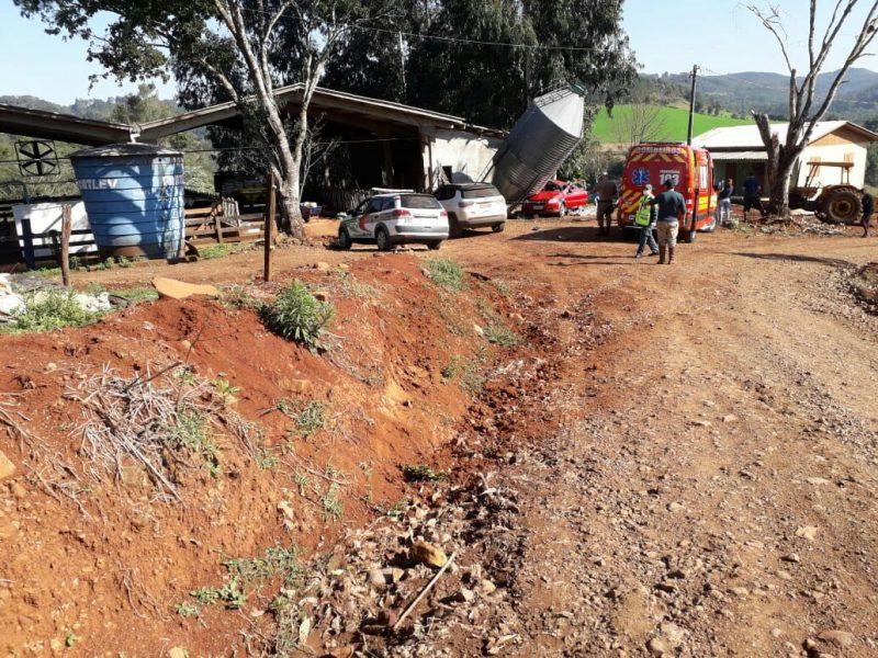 Além da Polícia Militar, uma viatura do Samu chegou a ser acionado – Foto: Corpo de Bombeiros/Reprodução