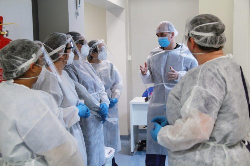 Atualmente, 15 hospitais estão lotados no Estado, o maior número desde o início da pandemia – Foto: Jonathan Batista/divulgação ND