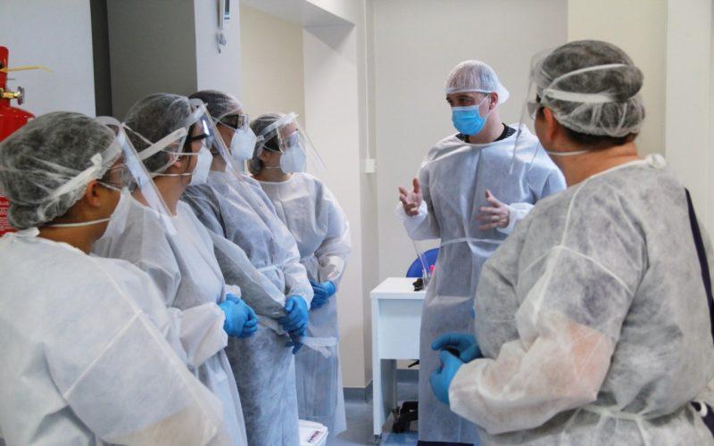Alto Vale tem os piores indicadores da pandemia em SC – UTI coronavírus – Foto: Jonathan Batista/ND