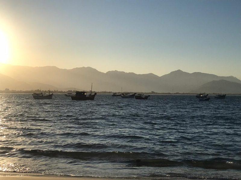 A segunda-feira (15) começou com temperaturas agradáveis, em torno de 19°C, e com o sol aparecendo entre poucas nuvens – Foto: Anderson Coelho/Arquivo/ND