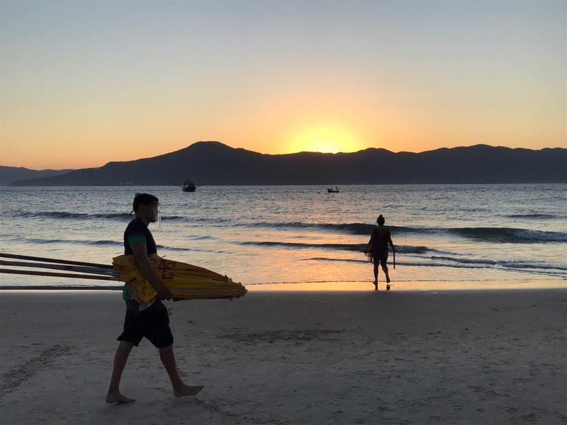 Temperaturas seguem baixas em Florianópolis e demais cidades do Estado – Foto: Anderson Coelho/ND