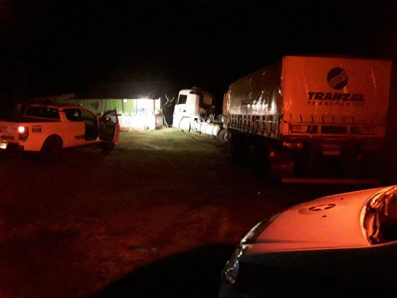 Motorista embriagado confunde casa com posto de combustível em Ipuaçu – Foto: PMRv/ND