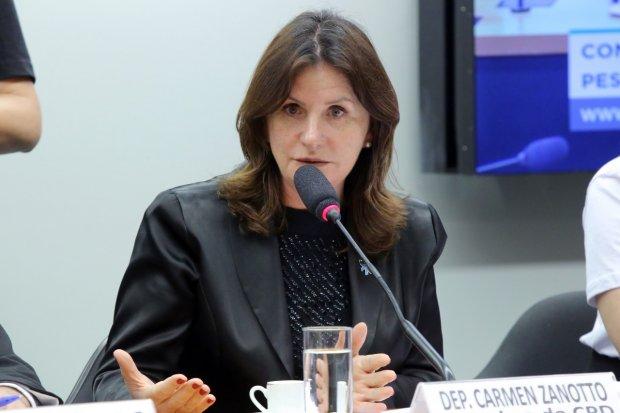 Carmen Zanotto está no terceiro mandato como deputada federal – Foto: Divulgação/ND