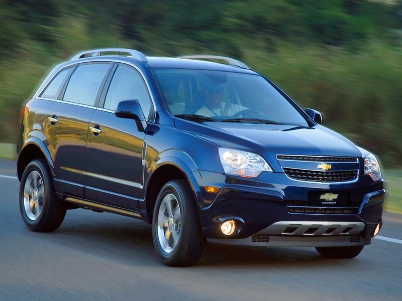 Chevrolet Captiva 2.4 2014 - R$ 49.900 - Foto: Divulgação/Chevrolet/Garagem 360/ND