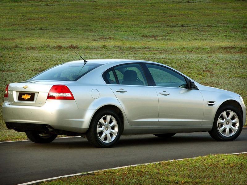 Chevrolet Omega CD 3.6 V6 2008 - R$ 48 mil - Foto: Divulgação/Chevrolet/Garagem 360/ND