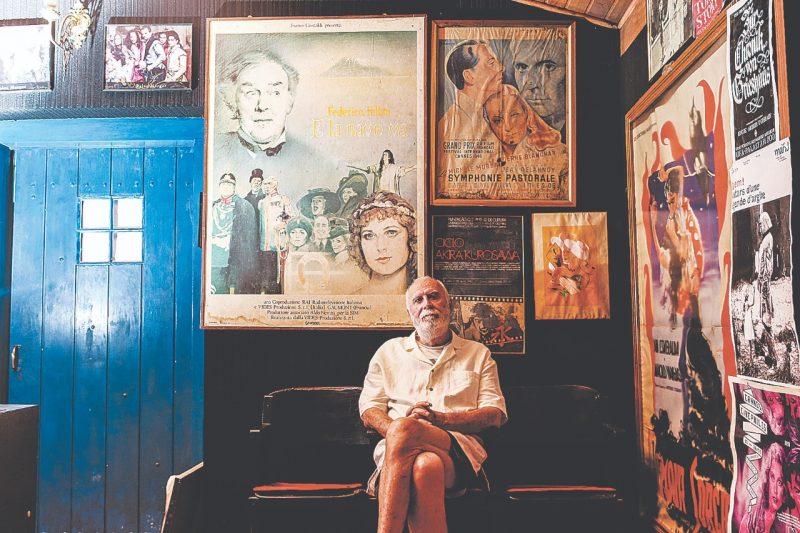 O cinéfilo, pesquisador e escritor, Gilberto Gerlach – Foto: Divulgação/ND