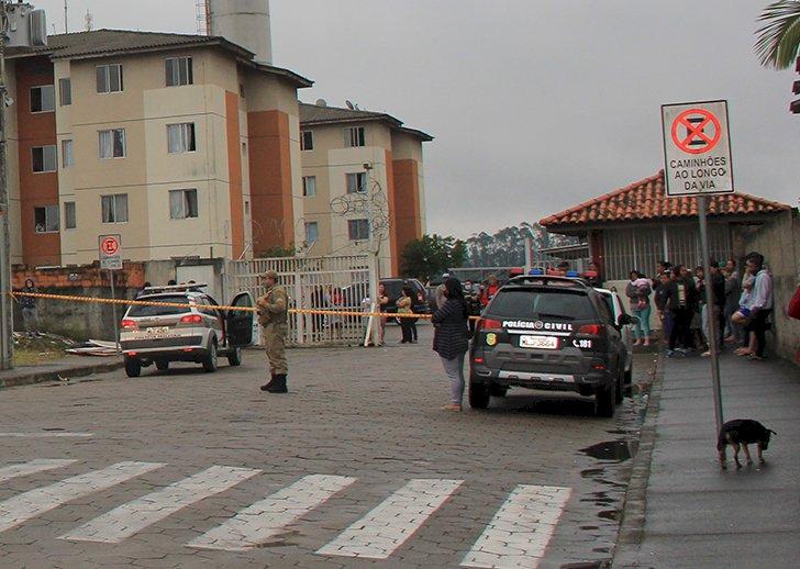 Crime ocorreu em frente ao Residencial Milano – Foto: Reprodução/Redes Sociais/ND