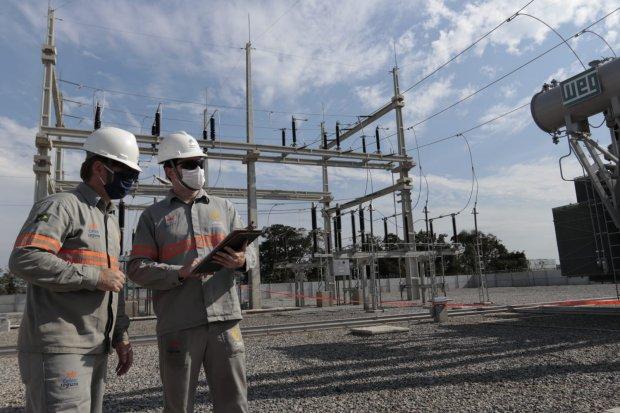 Governador inaugura subestação de energia elétrica em Araquari – Foto: Divulgação Governo do Estado