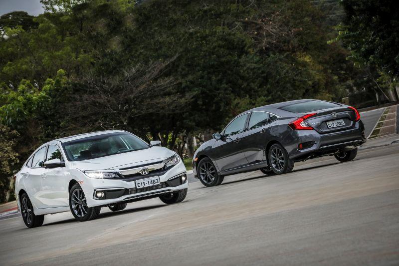 Recall da Honda convoca Civic, Accord e HR-V por problema na bomba de combustível - Divulgação/Honda