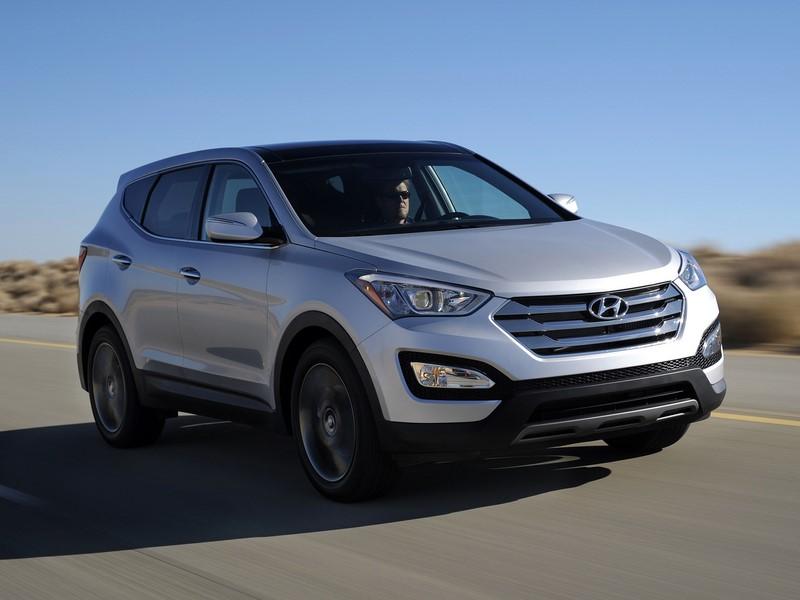 Hyundai Santa Fe 3.3 V6 2014/2015 - R$ 99.900 - Foto: Divulgação/Hyundai/Garagem 360/ND