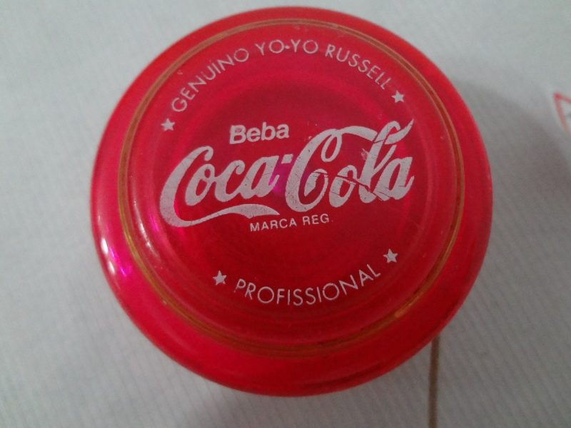 Iôiô lançado pela Coca-Cola – Foto: Internet/Divulgação