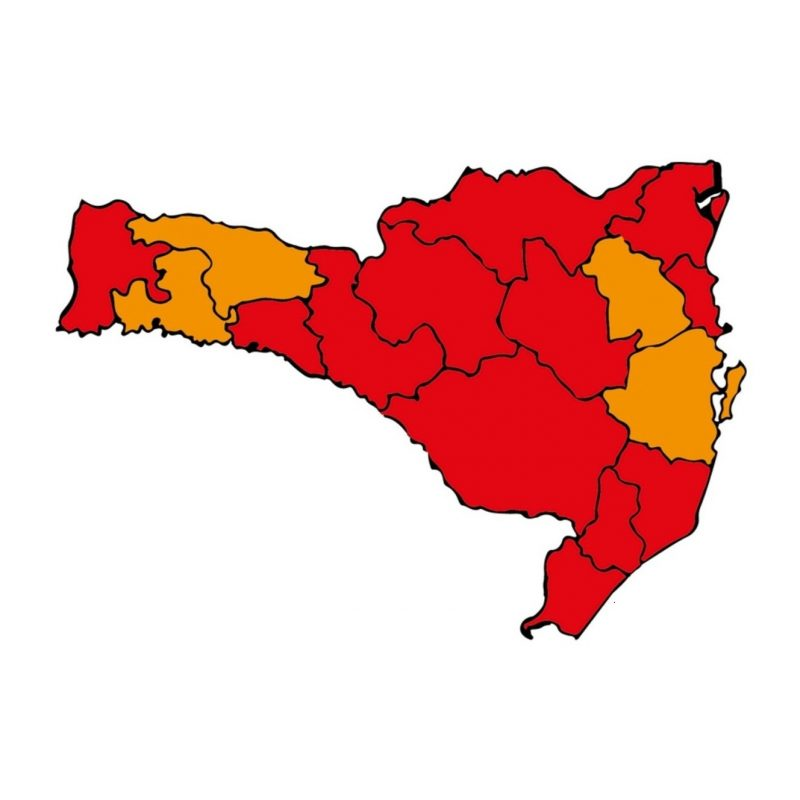 12 regiões ainda aparecem em nível gravíssimo para contágio da Covid-19 – Foto: SES/Divulgação