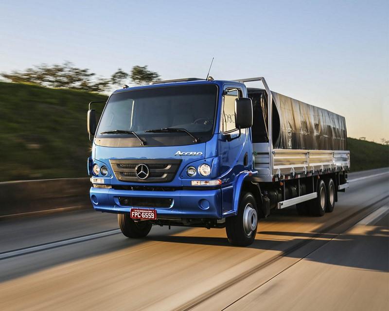 Mercedes-Benz Accelo - Foto: Divulgação/Daimler/Garagem 360/ND