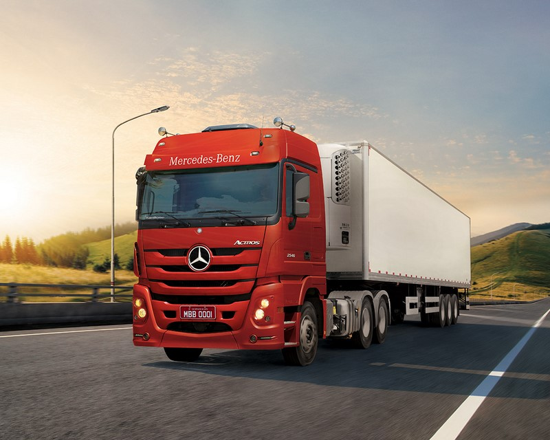 Mercedes-Benz Actros - Foto: Divulgação/Daimler/Garagem 360/ND