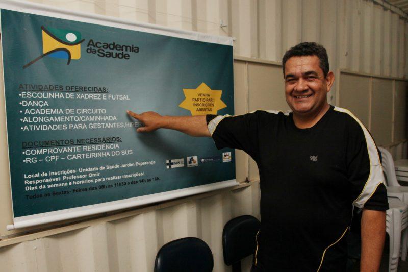 Omir coordenou projeto que oferecia aulas e atividades esportivas gratuitamente para a população – Foto: Prefeitura de Itajaí/ND