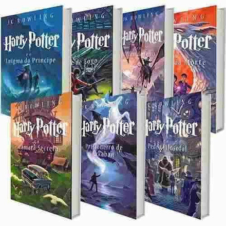 A série Harry Potter já vendeu mais de 1 bilhão de exemplares no mundo, sendo traduzido em mais de 60 idiomas – Foto: Divulgação
