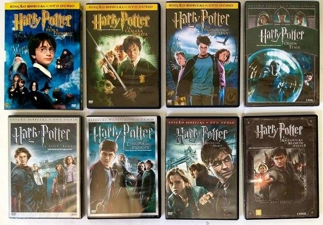 Todos os filmes de Harry Potter entraram na lista das 50 maiores bilheterias de todos os tempos – Foto: Reprodução DVD