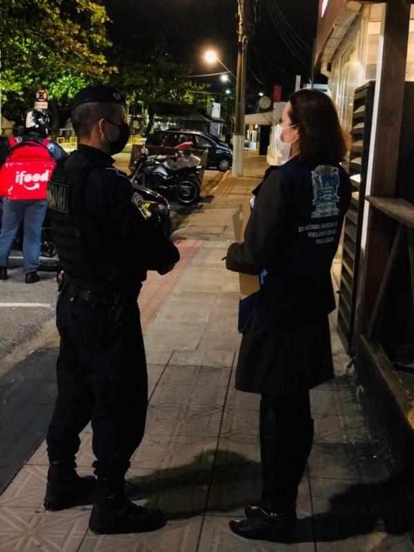 Desde o último dia 24, as prefeituras de Florianópolis, São José, Biguaçu e Palhoça, em ação conjunta, prorrogaram o decreto com restrições de isolamento – PMF/Divulgação/ND