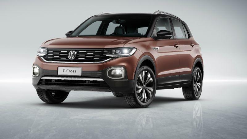 Volkswagen chama o T-Cross para recall por problema nos amortecedores dianteiros - Divulgação