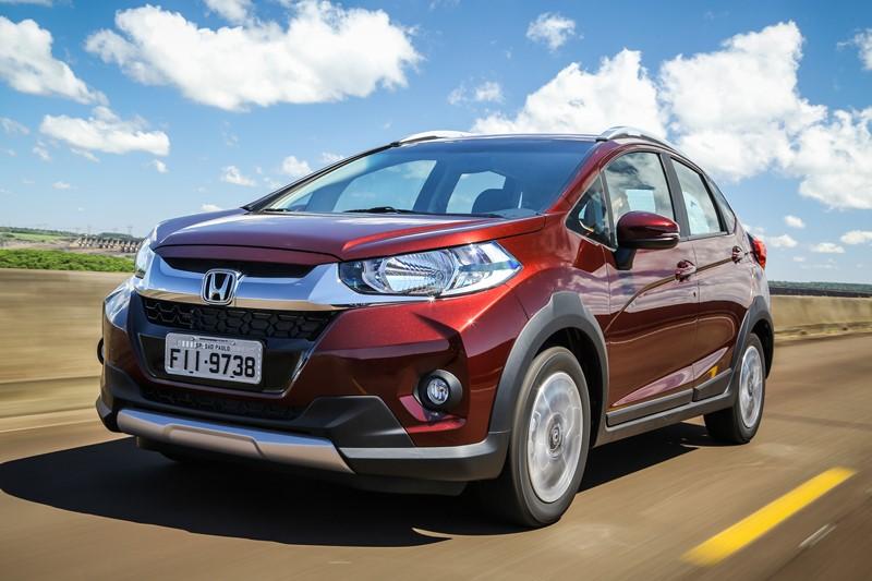 Honda WR-V: consumo 1.5 CVT (cidade/estrada): etanol (8,1/8,8) km/l; gasolina (11,7/12,4) km/l - Foto: Divulgação/Honda/Garagem 360/ND