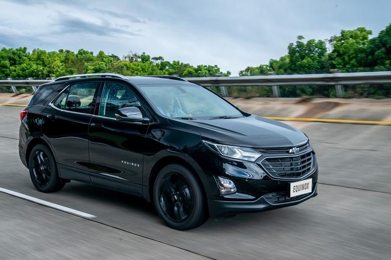 Chevrolet Equinox: consumo 1.5 turbo AT6 (cidade/estrada): gasolina (8,4/10,1) km/l – consumo 2.0 turbo AT9 (cidade/estrada): gasolina (9,1/10,8) km/l - Foto: Divulgação/Chevrolet/Garagem 360/ND