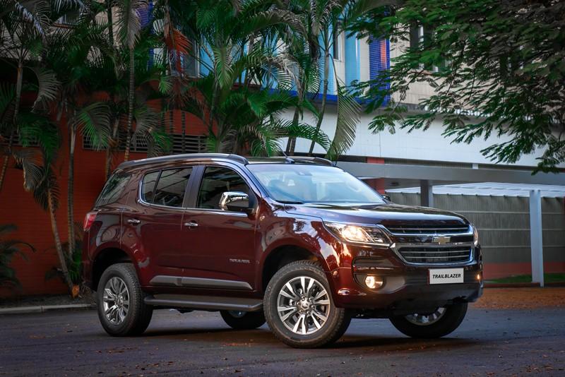 Chevrolet Trailblazer: consumo 2.8 turbodiesel AT6 (cidade/estrada): diesel (8,4/10,5) km/l - Foto: Divulgação/Chevrolet/Garagem 360/ND