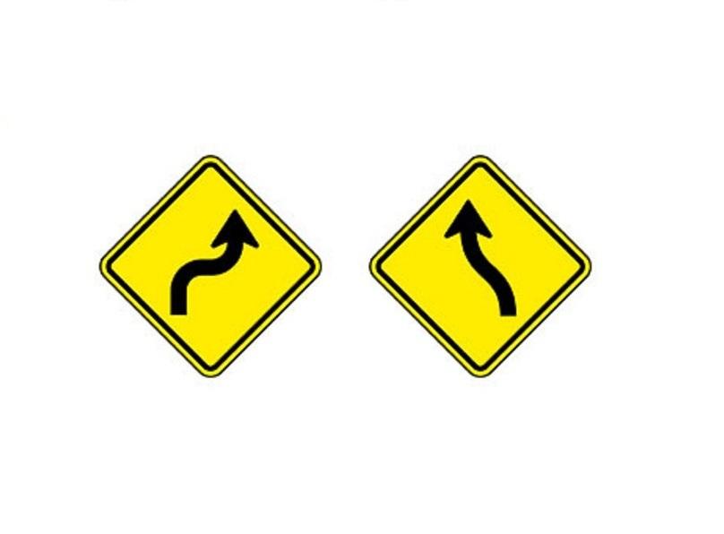 Curva acentuada em S à direita e Curva em S à esquerda - Foto: Reprodução/Garagem 360/ND