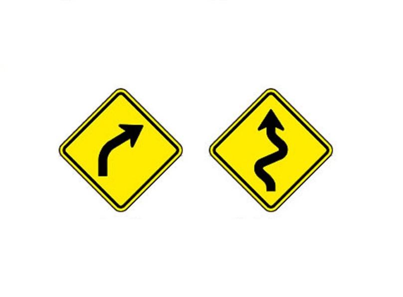 Curva à direita e Pista sinuosa à esquerda - Foto: Reprodução/Garagem 360/ND