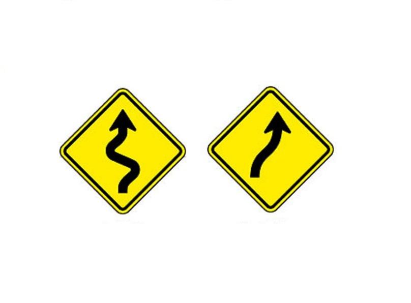 Pista sinuosa à direita e Curva em S à direita - Foto: Reprodução/Garagem 360/ND