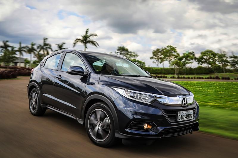 Honda HR-V: consumo 1.8 CVT (cidade/estrada): etanol (7,7/8,6) km/l; gasolina (11/12,3) km/l – consumo 1.5 turbo CVT (cidade/estrada): gasolina (11,4/12,6) km/l - Foto: Divulgação/Honda/Garagem 360/ND