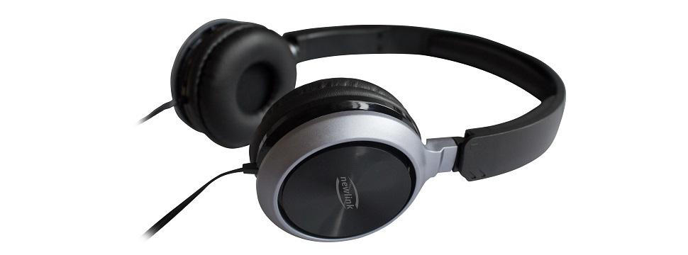 Headset Premium HS115 da NewLink. O teste completo você vê em http://goo.gl/TghrYd. - Foto: Divulgação/33Giga/ND