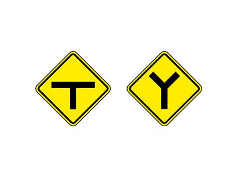Interseção em T e Bifurcação em Y - Foto: Reprodução/Garagem 360/ND