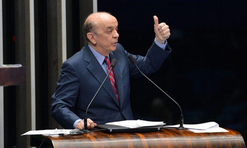 José Serra vai se licenciar do cargo para tratamento de doença de Parkinson – Foto: Fabio Rodrigues Pozzebom/Agência Brasil/ND