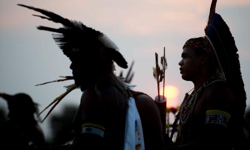 União é responsável pela proteção e respeito aos bens indígenas de acordo com o artigo231 da Constituição – Foto: Marcelo Camargo/Agência Brasil/ND