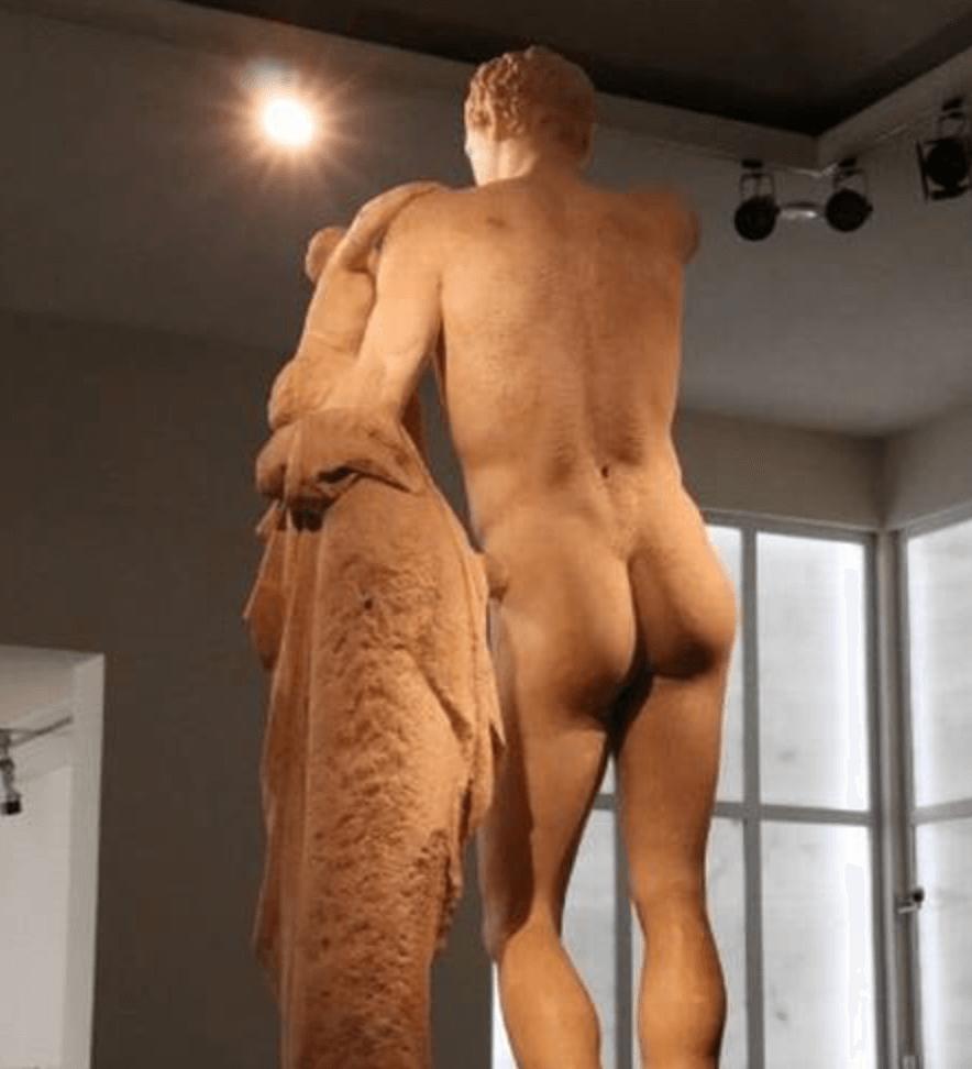 O representante da Grécia é masculino, Hermes - Reprodução Twitter
