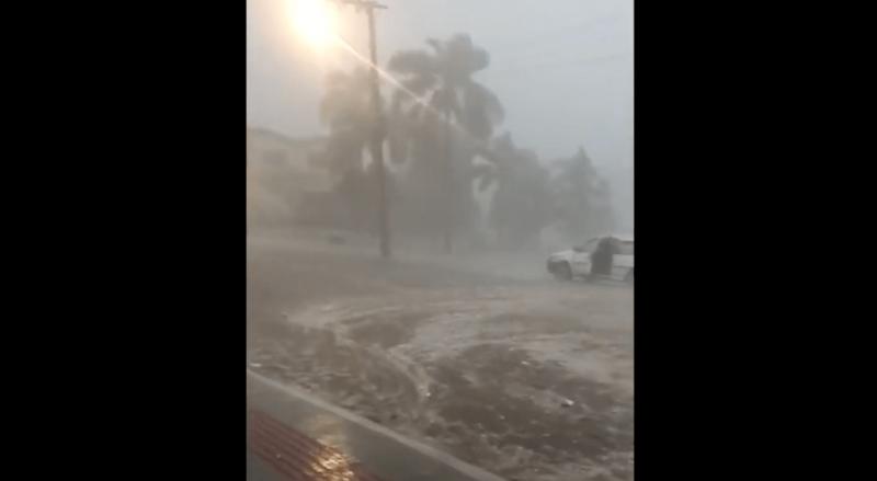 Ciclone levou desespero aos moradores de Rio Doce, no Meio-oeste de SC – Foto: Ciclone levou desespero aos moradores de Rio Doce, no meio-oeste de SC