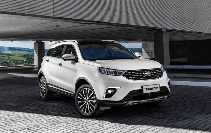 Ford inicia a pré-venda do Territory no Brasil; preços começam em R$ 165.900 - Divulgação