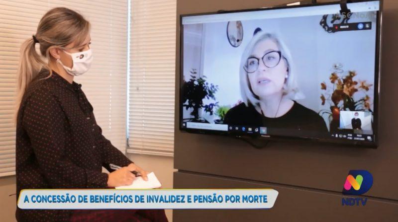 Esposo da advogada Mariluci Zimmerman Alves contratou plano de previdência privada e garantiu segurança familiar para casos de invalidez e pensão por morte – Foto: Reprodução NDTV
