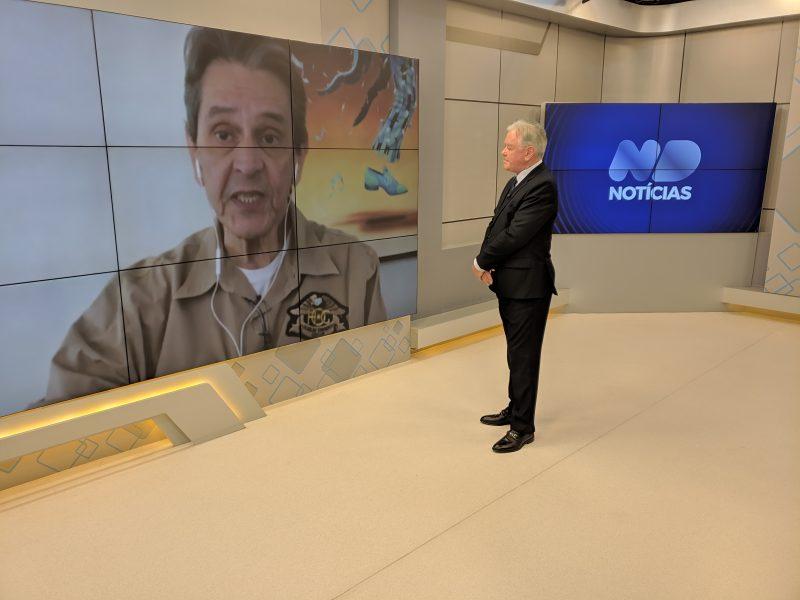Roberto Jefferson concedeu entrevista ao ND Notícias – Foto: Reprodução/ND Notícias