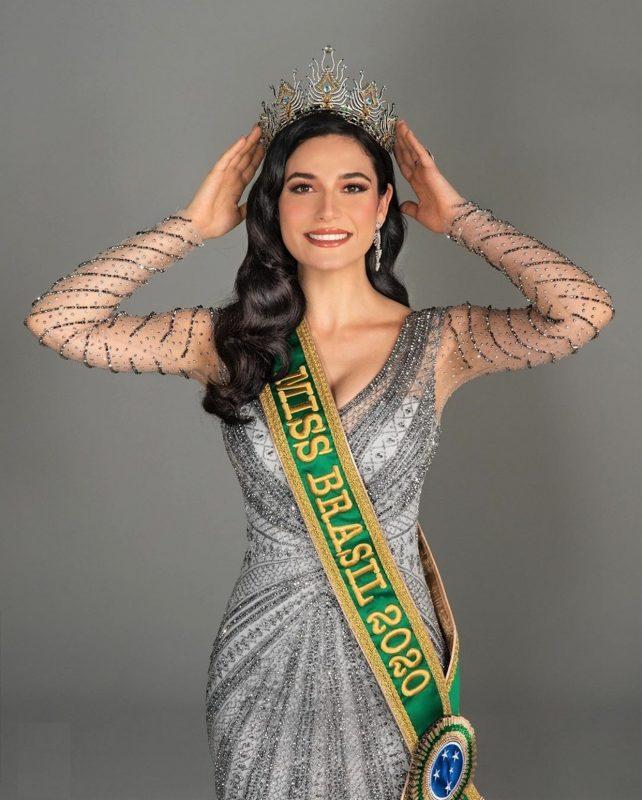 Julia Gama, do Rio Grande do Sul, miss Brasil Universo 2020 – Foto: Divulgação/ND
