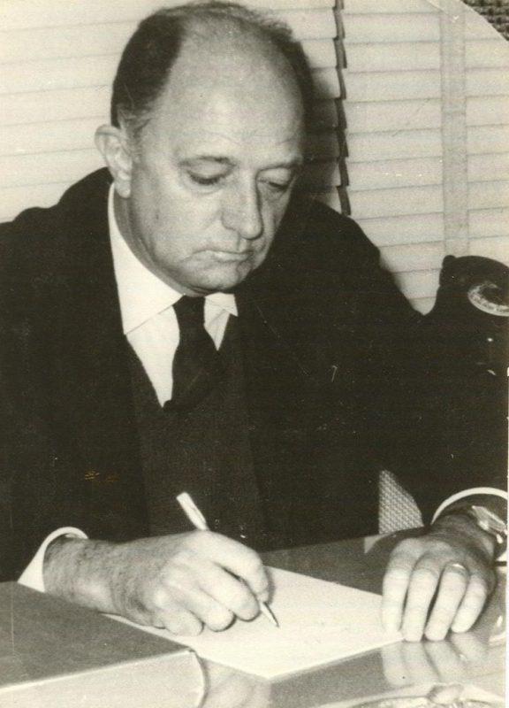 Henrique Stodieck era pai do Beto Stodieck – Foto: Arquivo familiar.