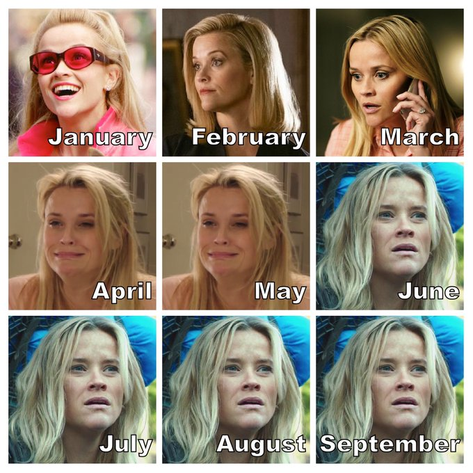 A Reese Whitherspoon tá desde junho numa bad complicada, amiga – Foto: Reprodução Twitter/ND