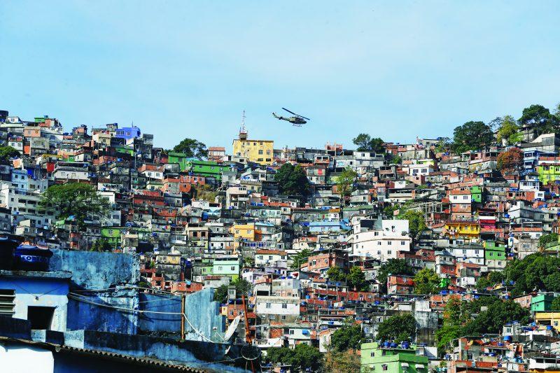 Operação de segurança contra confrontos entre traficantes na favela da Rocinha (Fernando Frazão/Agência Brasil) – Foto: Agência Brasil/ND