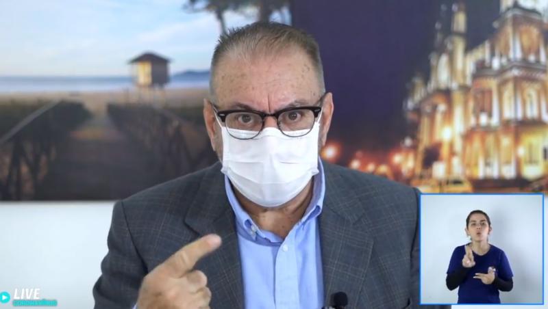 Volnei Morastoni (MDB), sugeriu o tratamento com ozônio em agosto. – Foto: Reprodução/Facebook