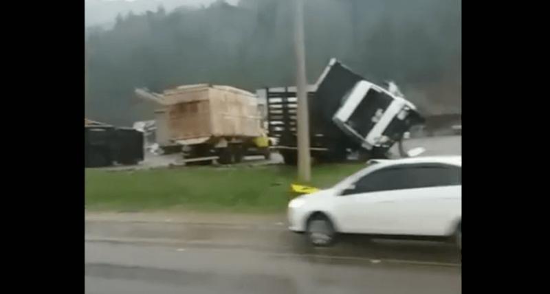 Tornado em Santa Catarina – Reprodução – Foto: Tornado em Santa Catarina – Reprodução