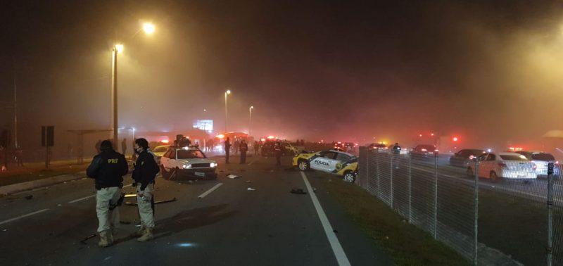 Oito pessoas morreram no acidente – Foto: PRF/Divulgação